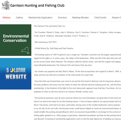 Garrison Hunting and Fishing Club